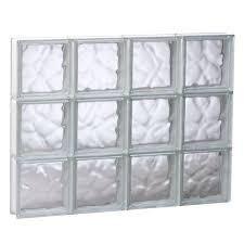 glass cube window