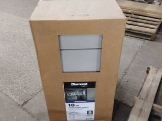 diamond now 18 inch drawer base cabinet wintucket