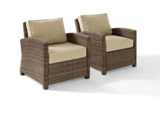 Bradenton outdoor wicker arm chair  only 1