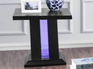 Furniture of America Weston Contemporary Black Solid Wood End Table Retail 284 99