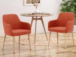 Alistair mid century fabric chair
