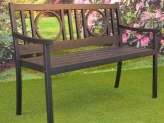 Nelson Outdoor Metal Bench Retail 175 49