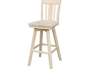San Remo 30 inch Bar Stool with Swivel Seat Retail 184 49