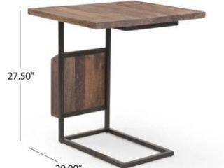onzaga modern industrial mango wood adjustable