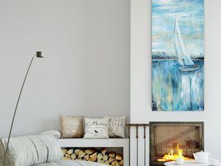 Nan  Evening Bay III  Canvas Premium Gallery wrapped Wall Art