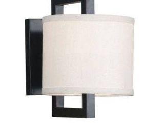 Shelby Modern Geometric 1 light Wall Sconce   7  x 10