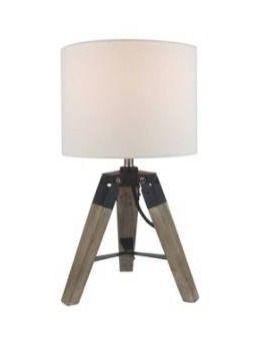 16  Mid Century Modern Tripod Table lamp
