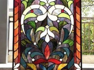 Gracewood Hollow Divakaruni Rectangular Glass Window Panel Suncatcher Retail 138 99