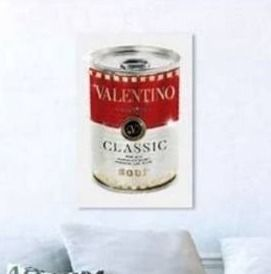 Oliver Gal Valentino Soup Canvas 22 x32