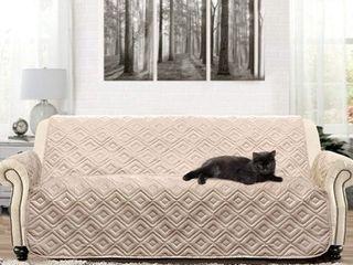 DriftAway Marley 100  Waterproof Quilted Machine Washable Sofa Furniture Protector