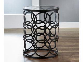 Circles  Metal Barrel End Table Retail 108 99