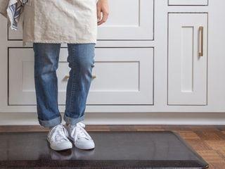 Designer Comfort Pebble Anti fatigue GelPro 20 x 48 inch Floor Mat   1 8  x 4    1 8  x 4