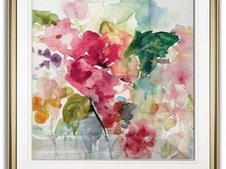 Citrus Floral Punch  Framed Giclee Print Retail 138 49