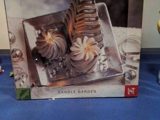 silver candle garden new open box