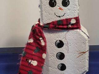 snowman brick
