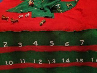 Christmas Tree Advent calendar  spot on tree