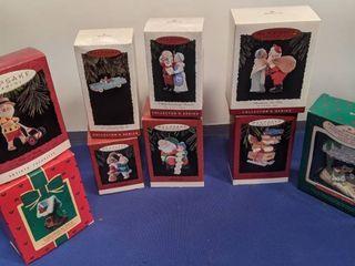 9 Hallmark Christmas ornaments