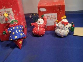 3 snow attire ornament