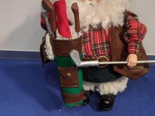 Golf Santa Claus