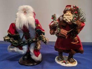 two Santa s