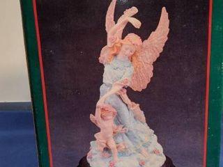 House of lloyd Christmas around the world cloud dancing figurine and box