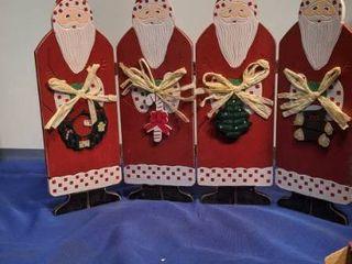 Santa holiday screens inbox box