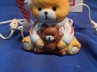 teddy bear night light needs light bulb