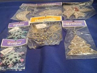 7 holiday living Christmas ornament new in package