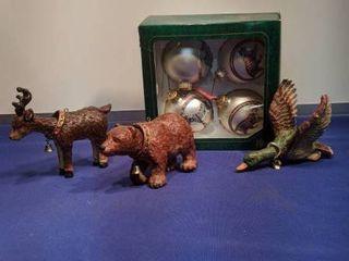 Safari ornaments