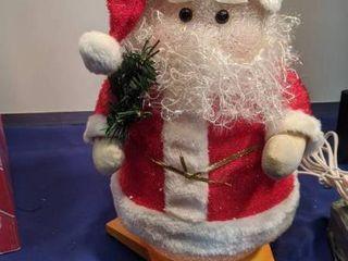 Santa lamp works