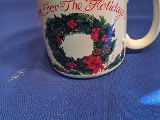 home for the holidays coffee mug