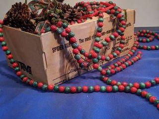 box of beads Garland