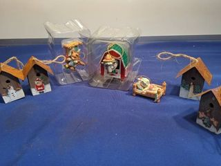 enesco Christmas ornament in box box been open