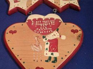believe in Santa sign