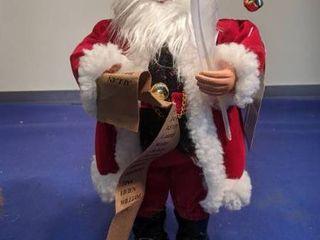Santa s workshop figurine inbox box been open