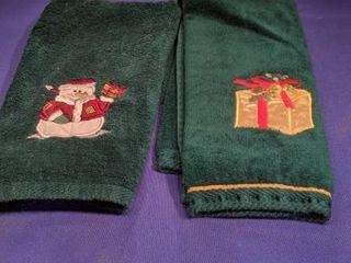 two hand towels