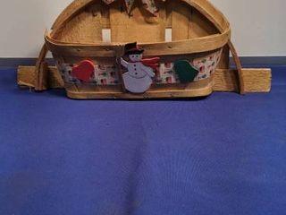 holiday half basket