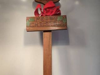reindeer stake 41 in tall