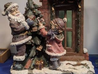 Christmas scene 15 1 2 x 15