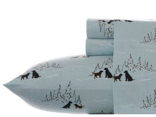 Eddie Bauer Queen Cotton Flannel Bed Sheet Sets