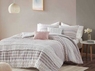 Urban Habitat Charlie Cotton Full Queen Duvet Cover Set  Retail 158 49