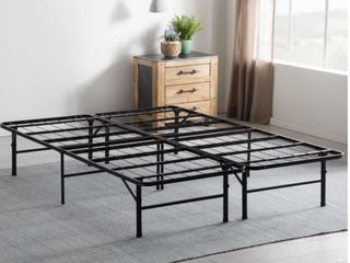 Porch  amp  Den Palouse Folding Platform Queen Bed Frame  Retail 121 99