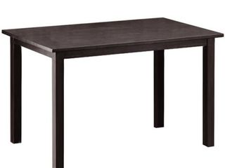 Baxton Studio Andrew Dining Table  Brown  Retail 116 64