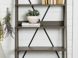 The Gray Barn 68 inch Solid Pine Wood ladder Bookshelf  Retail 136 49