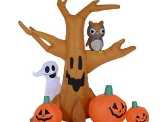 7 5  Tall Outdoor lighted Airblown Inflatable Halloween Decoration