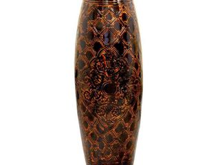 Antique Style Brown Floor Vase  36 Tall
