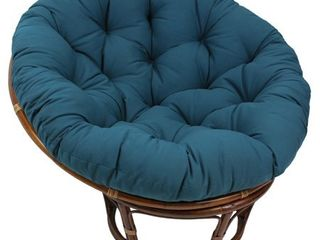 Blazing Needles 48 inch Solid Papasan Cushion  Base Not Included