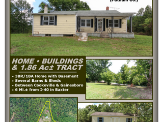 Online Absolute Auction of Home & Buildings on 1.8 Acres