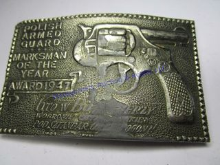 POlISH ARMED BUCKlE