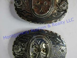 2 YOUTH GEM BUCKlES